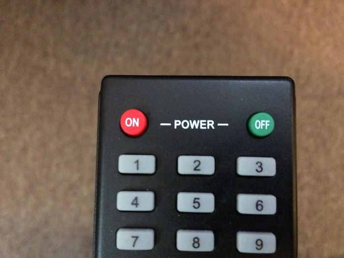 The Color Choice Of These Power Buttons