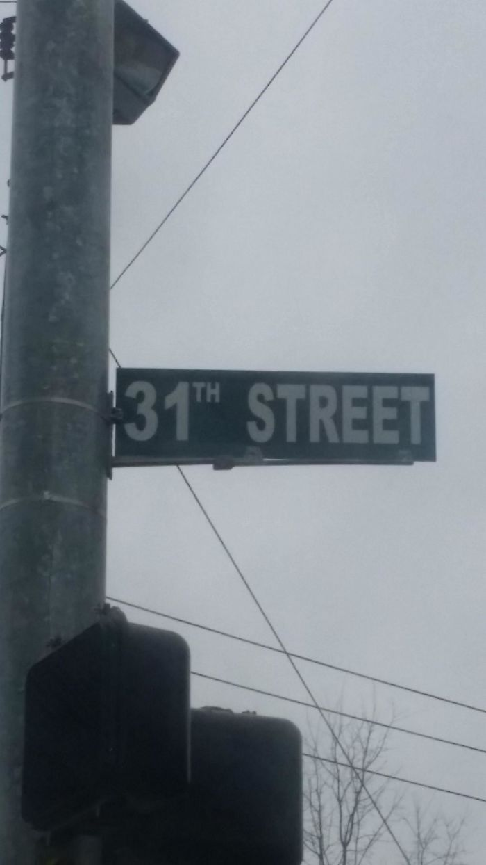 My 31th Favorite Street