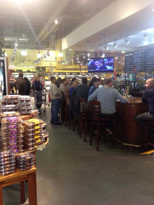 A Bar In The Grocery Store