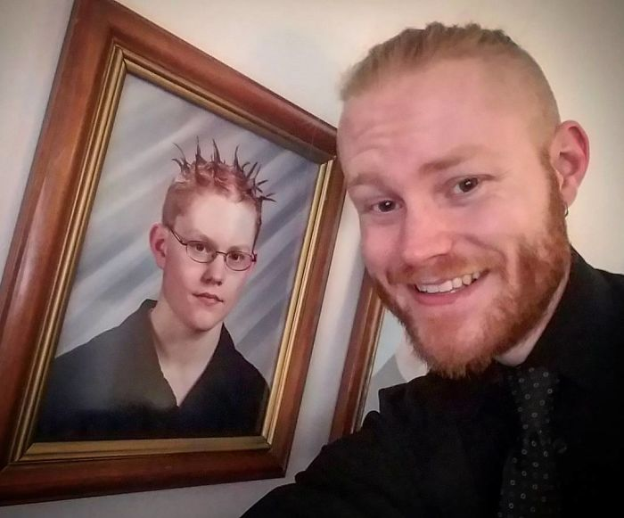 Found This Picture Of Me 15 Years Ago Hanging Up At My Grandmothers Today At Thanksgiving