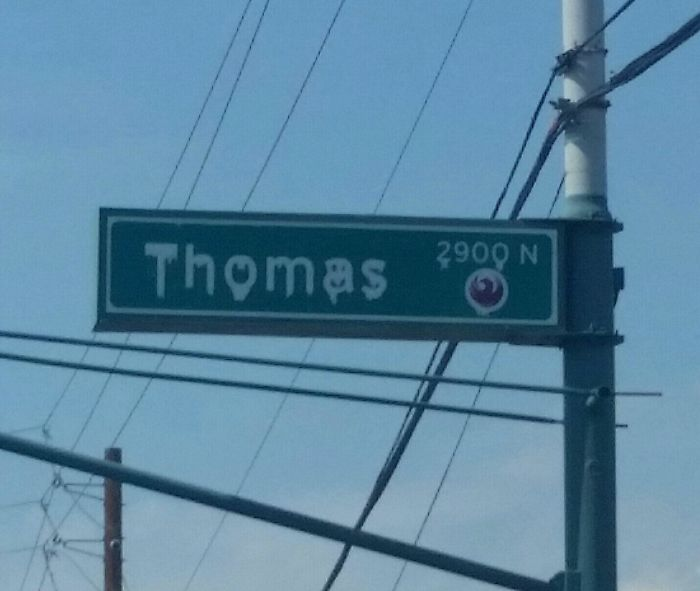 When It's So Hot In Phoenix, Even The Street Signs Are Melting