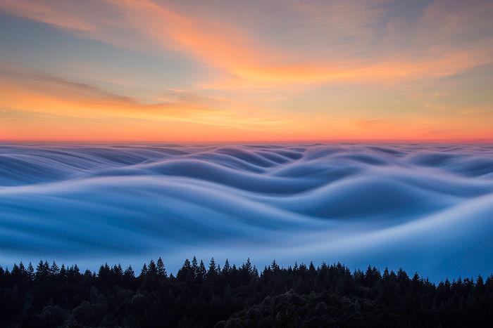 Fog That Look Like Ocean Waves