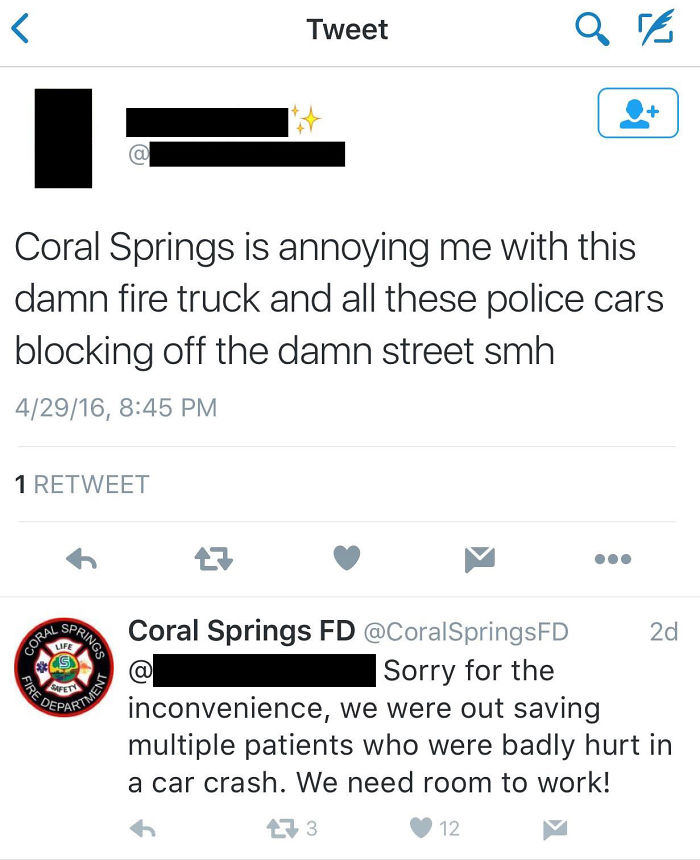 Those Annoying Emergency Vehicles