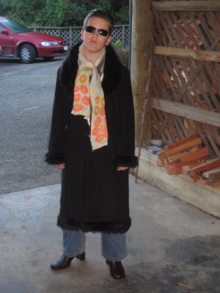 Matrix Inspired Outfit I Wore To School In 2008