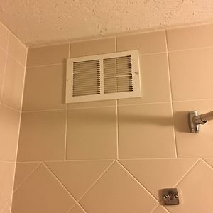 The Vent In My Hotel Shower Doesn't Seem To Be Working