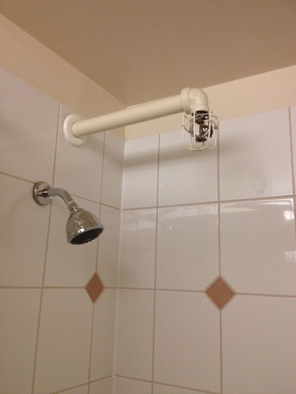 This Hotel Makes Sure I Won't Catch On Fire While Showering