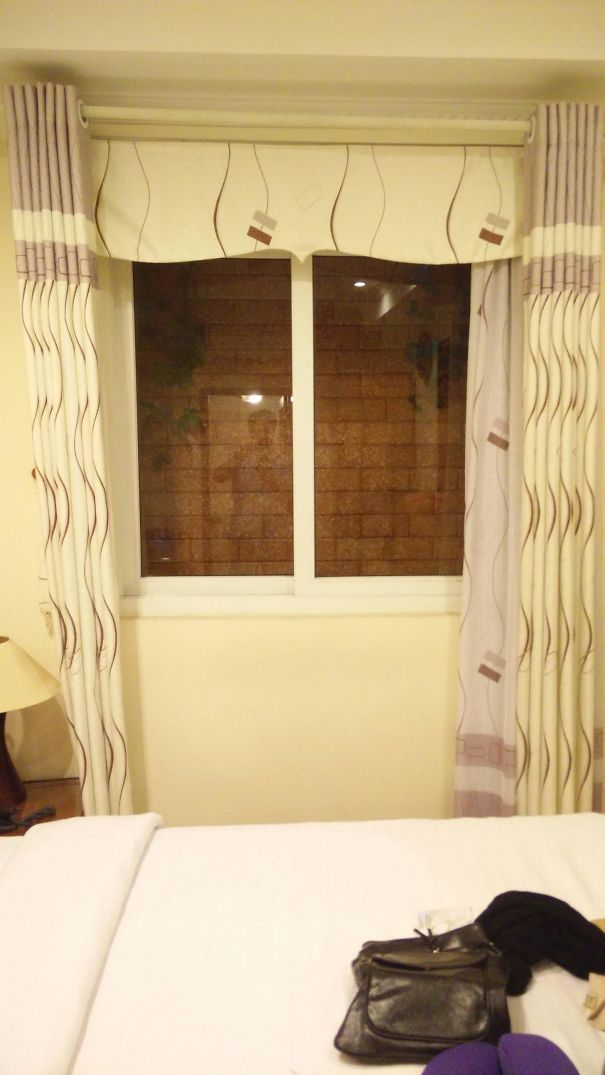 We Are Travelling Around North Vietnam, A Couple Of Our Rooms Have Had No Windows. The Hanoi Hotel We Just Checked Into Promised Me There Was A Window In The Room They Kept For Me. I Guess They Weren't Lying