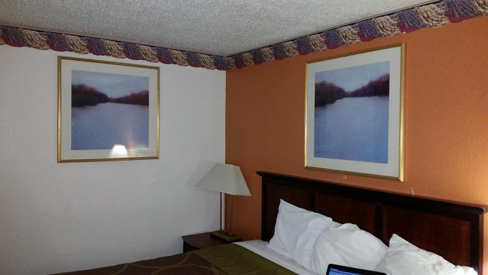 En este hotel les gusta tanto este cuadro que tenemos 2