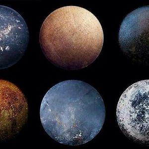 The Bottoms Of Old Frying Pans Look Like Planets