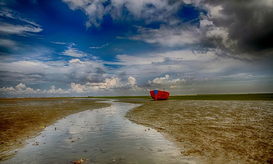 Waiting For The Torrent - Kattali Beach, Chittagong, Bangladesh