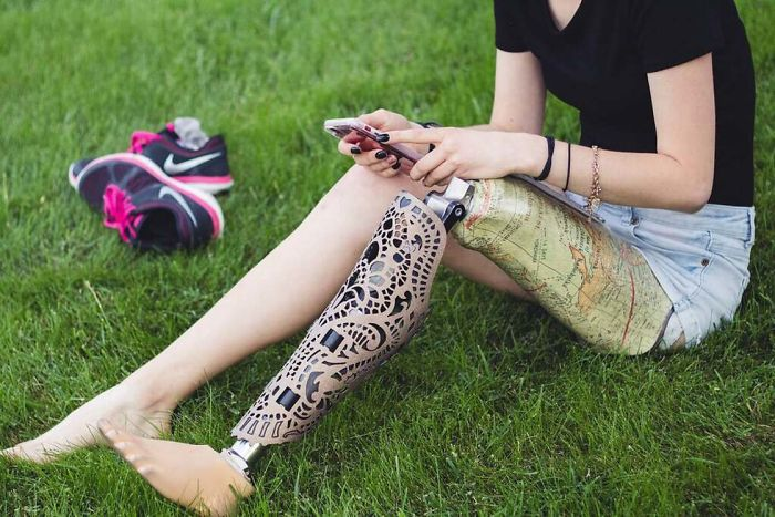 Company Develops Customized Covers To Transform Mechanical Prostheses Into Stylish Accessories