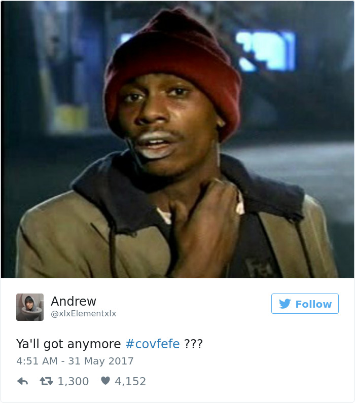 """Xx+ Of The Funniest Reactions To Donald Trump's Mysterious """"covfefe"""" Tweet"""