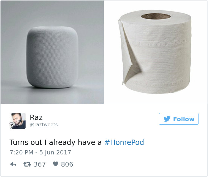 Reaction To Apple Homepod