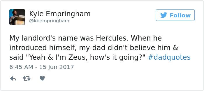 Dadquotes Tweet