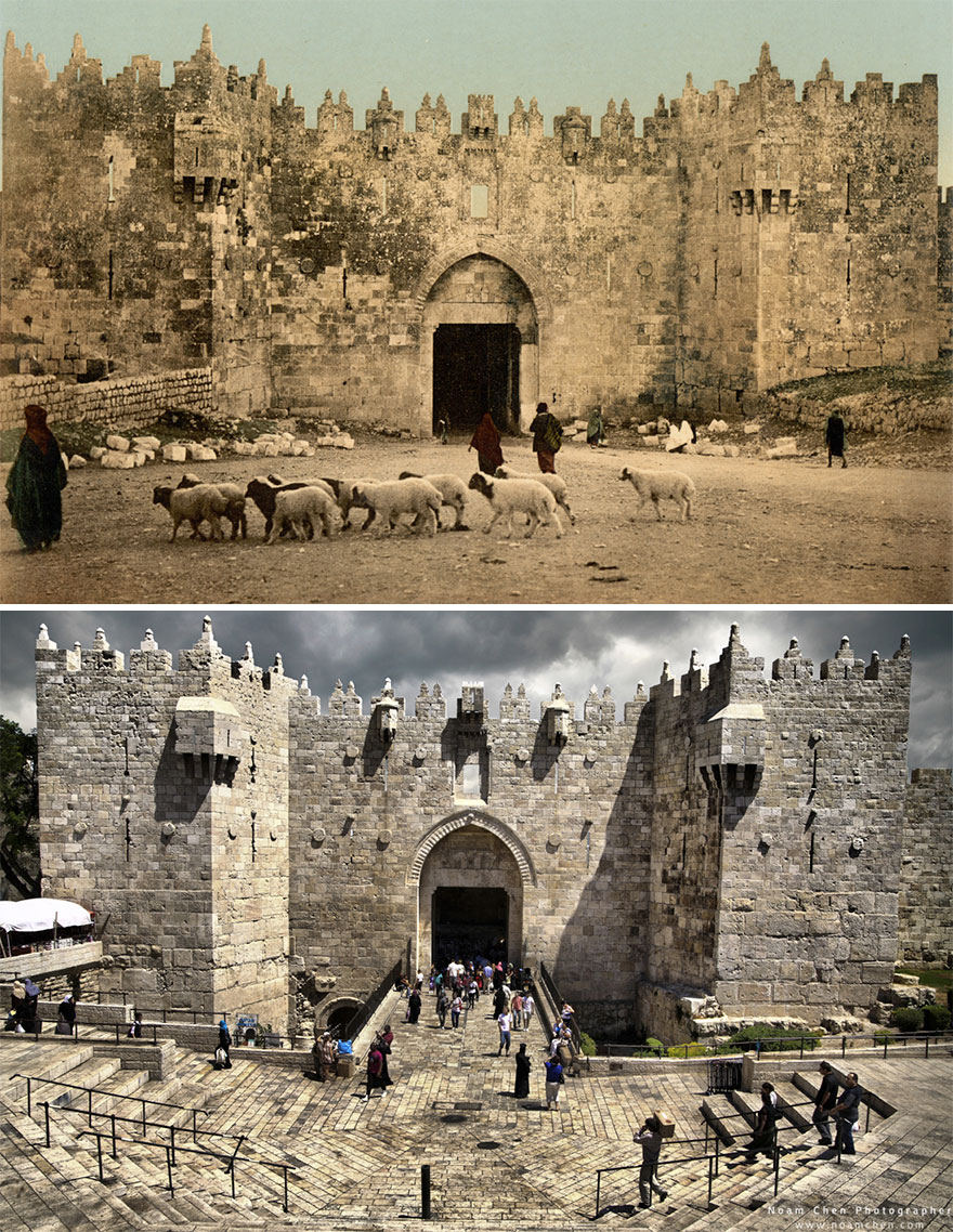 Damascus Gate: One Of Jerusalem's Most Beautiful Gates, Built In 1537 By The Ottoman Empire