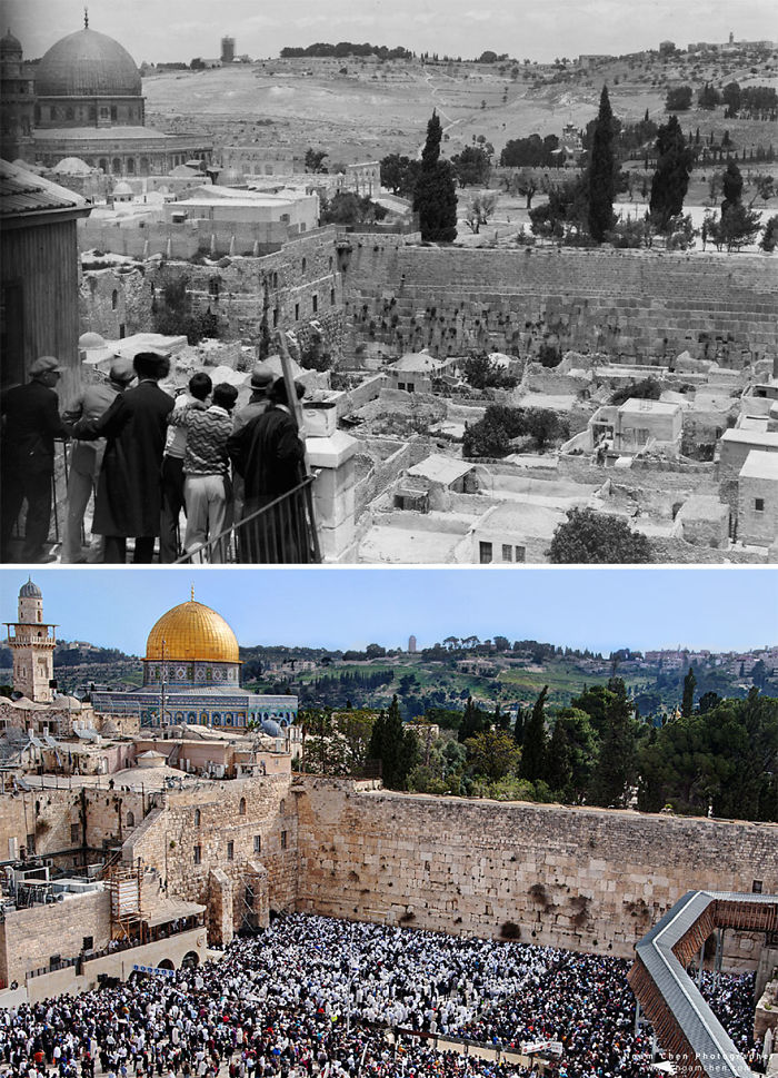 Overlooking The Temple Mount And Western Wall: The Temple Mount Is The Very Heart Of Jerusalem And Is Probably The Most Important Religious Site In The World, Directly Linked To The Core Of The Bible