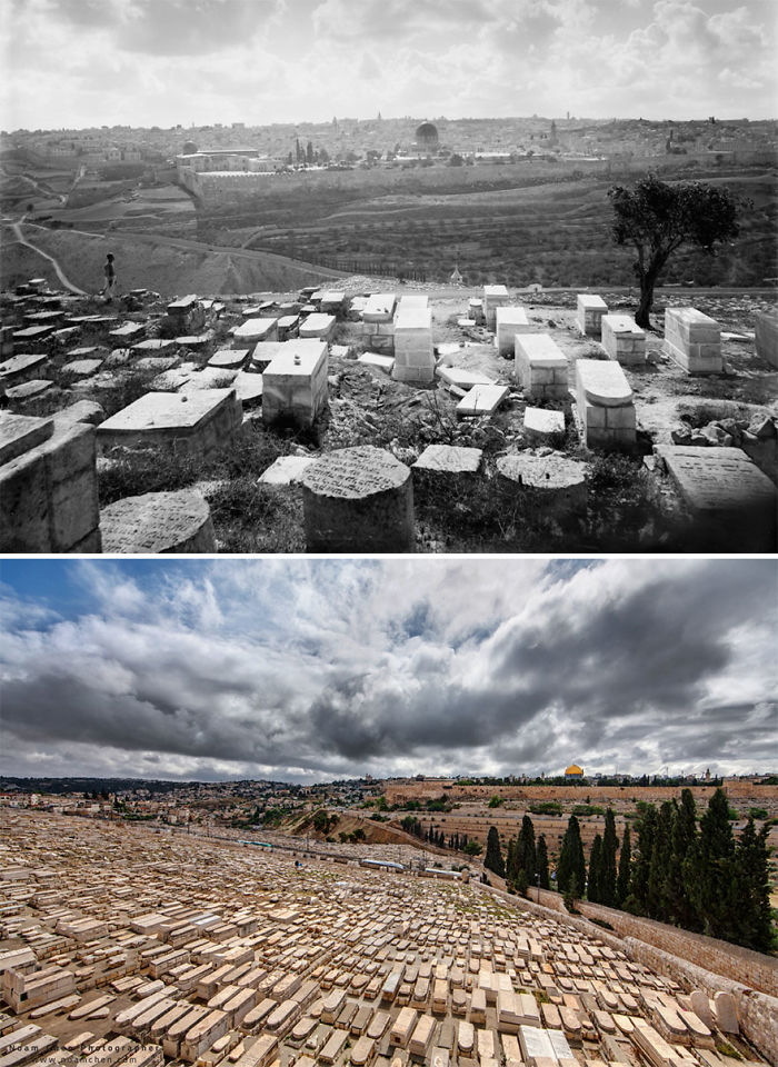 The Jewish Cemetery On The Mount Of Olives: Burial On The Mount Of Olives Began In The Period Of The First Jewish Temple, Some 3,000 Years Ago