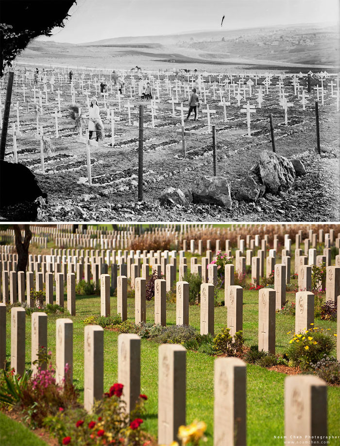 The British War Cemetery: Cemetery Of Fallen Soldiers Who Died In The Region During World War I