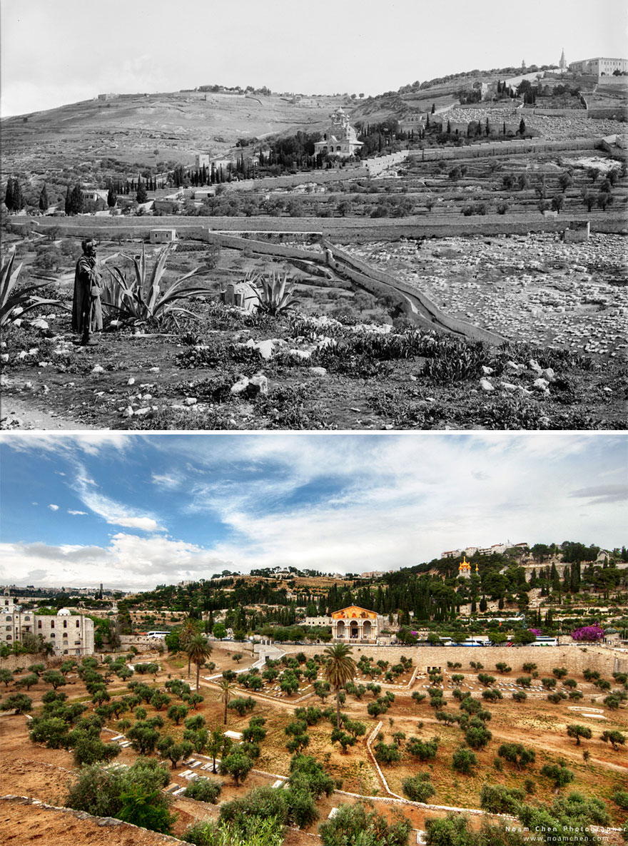 Mount Of Olives: View From The Kidron Valley