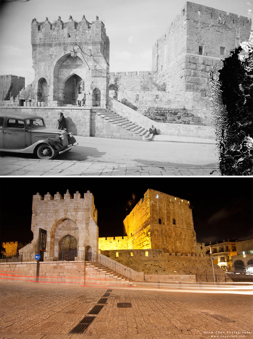 Entrance To The Tower Of David Museum: The Tower Of David Museum Was Opened In 1989 And Contains Archeological Ruins Dating Back Some 2,700 Years