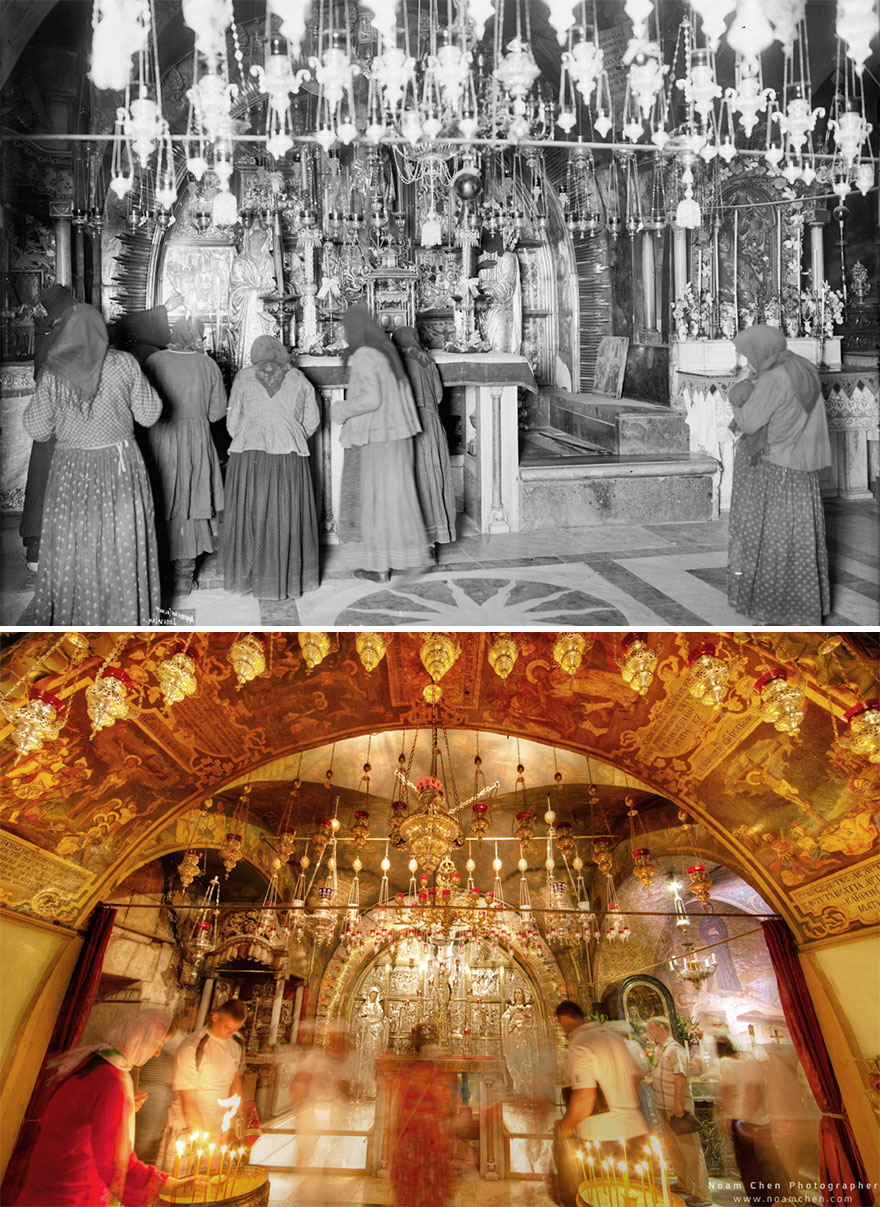 The Calvary/golgotha: The 12th Station Of The Cross, Inside The Church Of The Holy Sepulchre