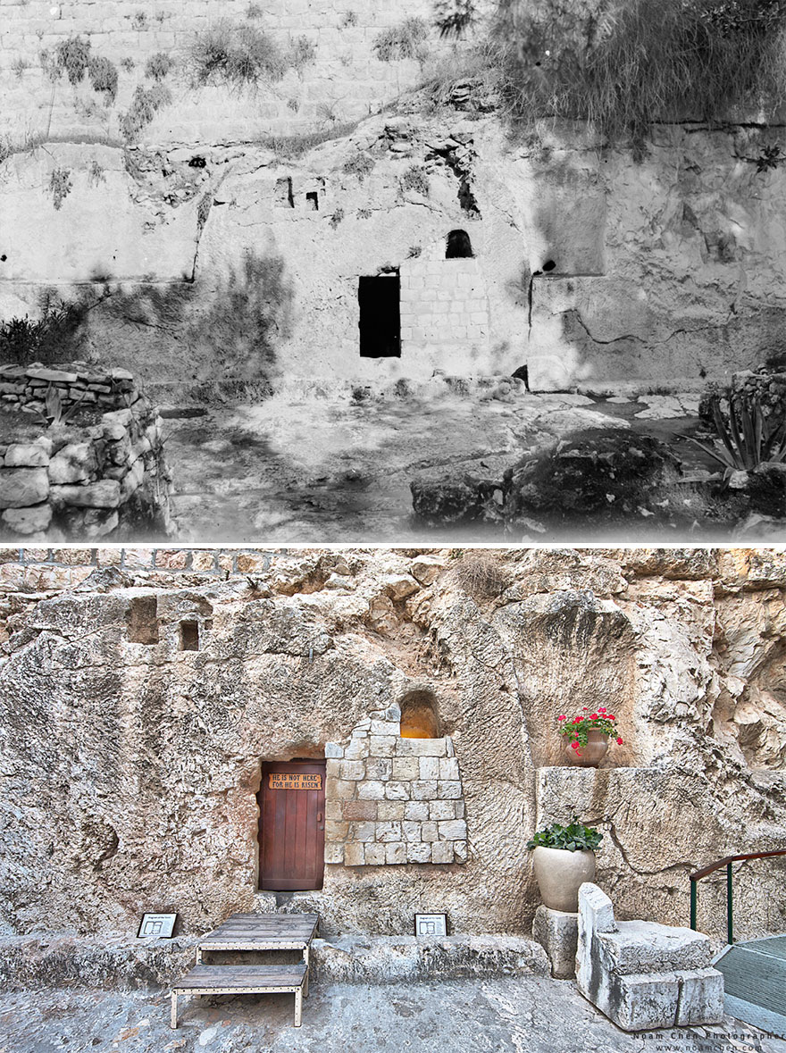 The Garden Tomb: Discovered Only In 1867, The Garden Tomb Is Considered By Some Groups To Be A Possible Site Of The Burial And Resurrection Of Jesus