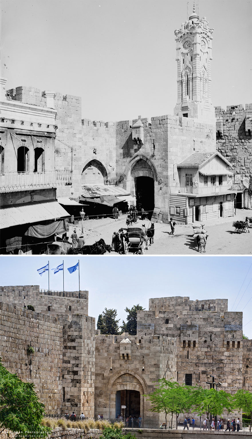 Jaffa Gate: One Of The Main Entrance Gates To The Old City
