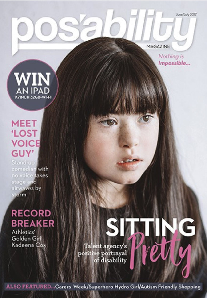 Our First Cover Girl! Our Gorgeous Model Sara. Onwards And Upwards!
