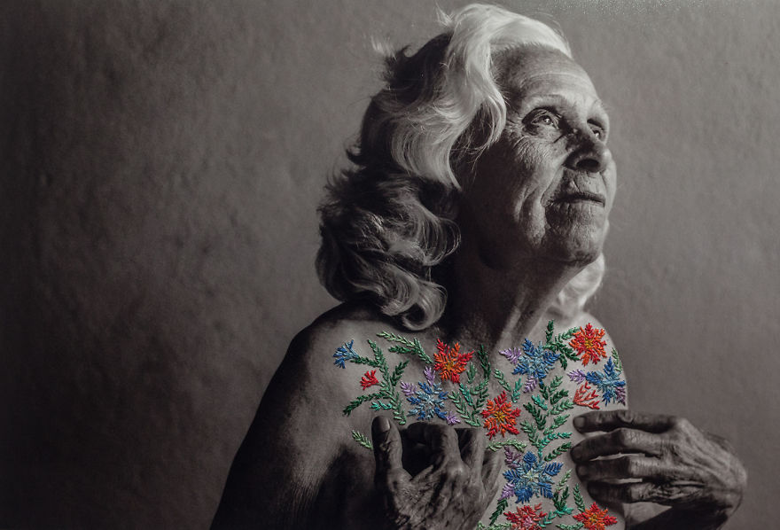 Embroidered Photography