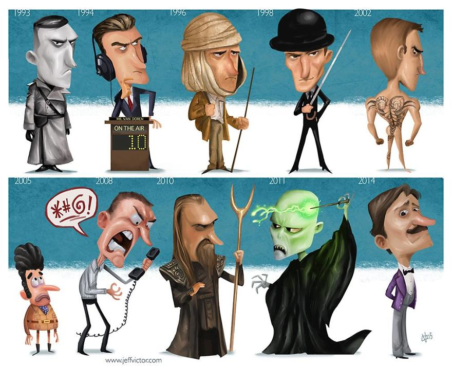 The Evolution Of Ralph Fiennes