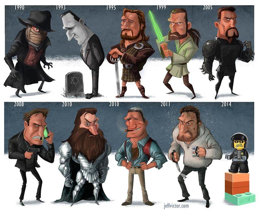 The Evolution Of Liam Neeson
