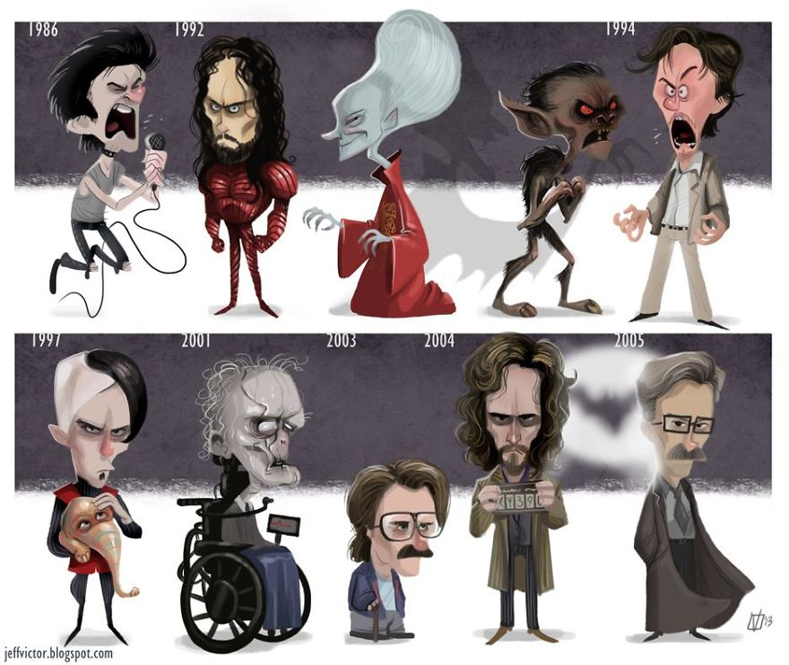 The Evolution Of Gary Oldman