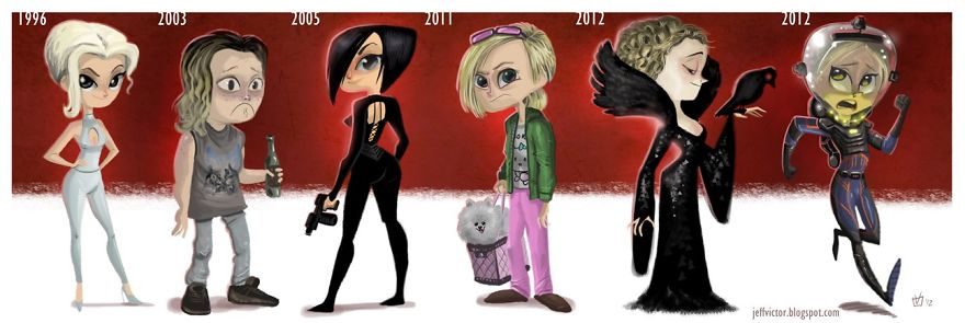 The Evolution Of Charlize Theron