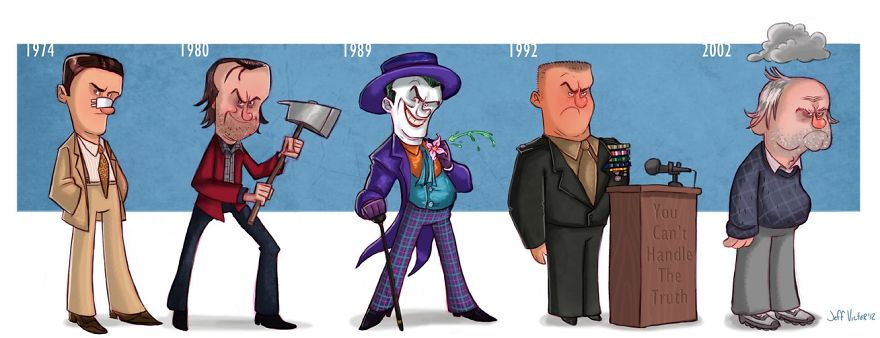The Evolution Of Jack Nicholson