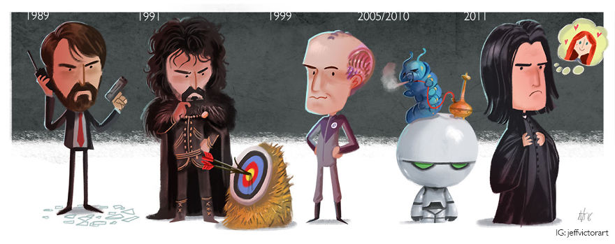 The Evolution Of Alan Rickman