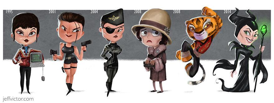 The Evolution Of Angelina Jolie
