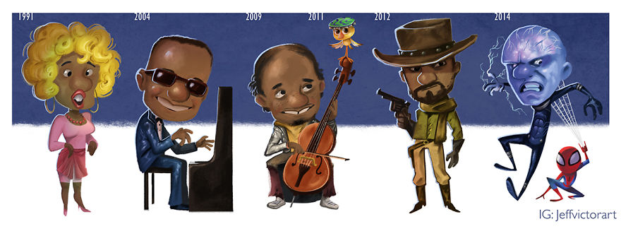 The Evolution Of Jaime Foxx