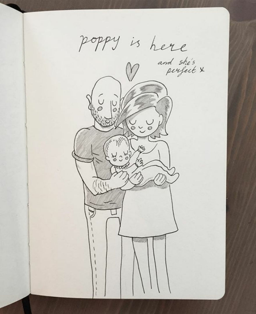 Our First Day At Home With Poppy