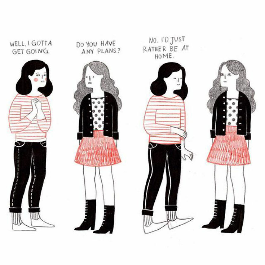 My Comics Deal With The Daily Struggles Of Being A Woman In Her Early 20s