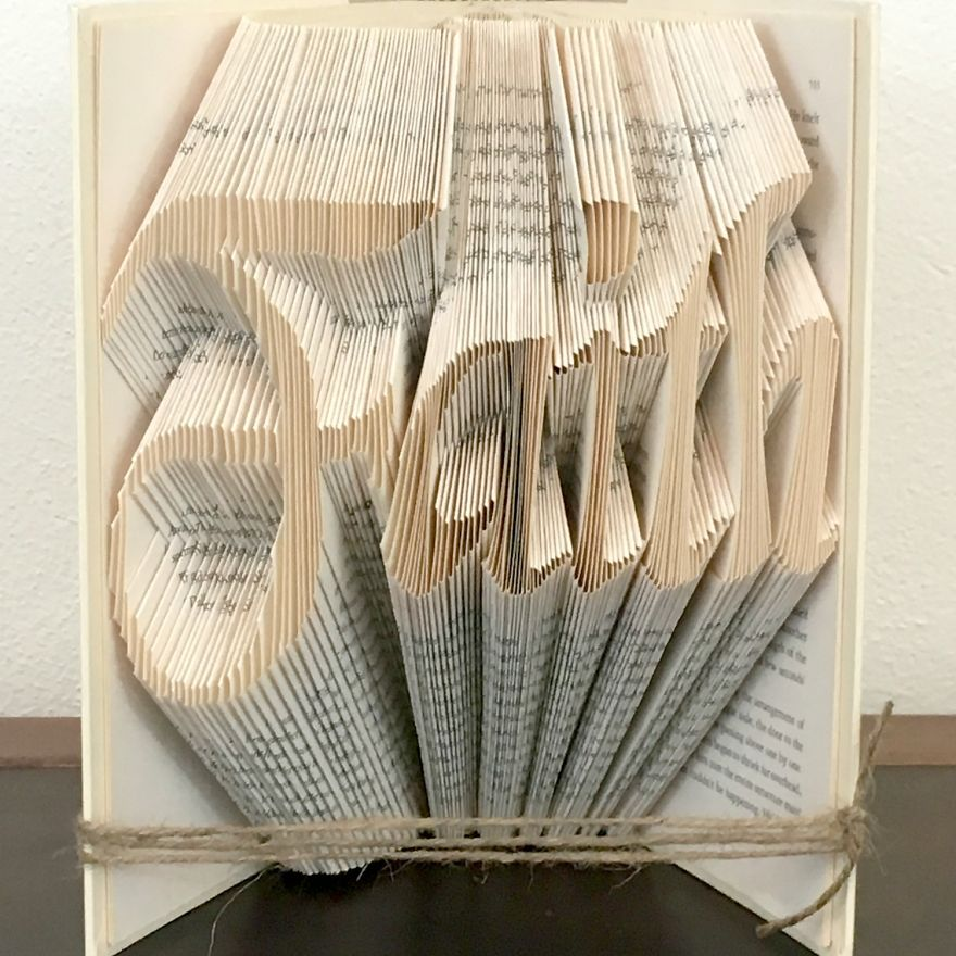 Faith Book Fold