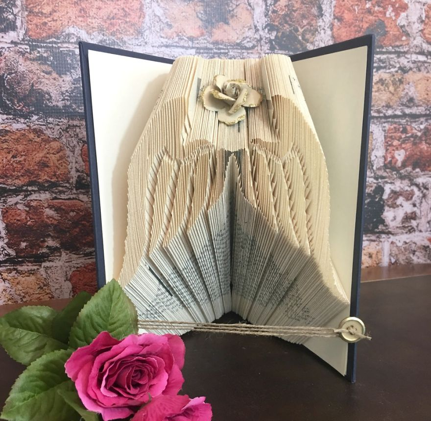 Angel Wings Bookart