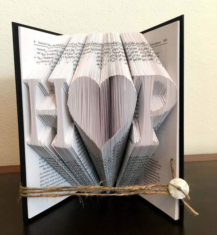 Couples Intials Bookart