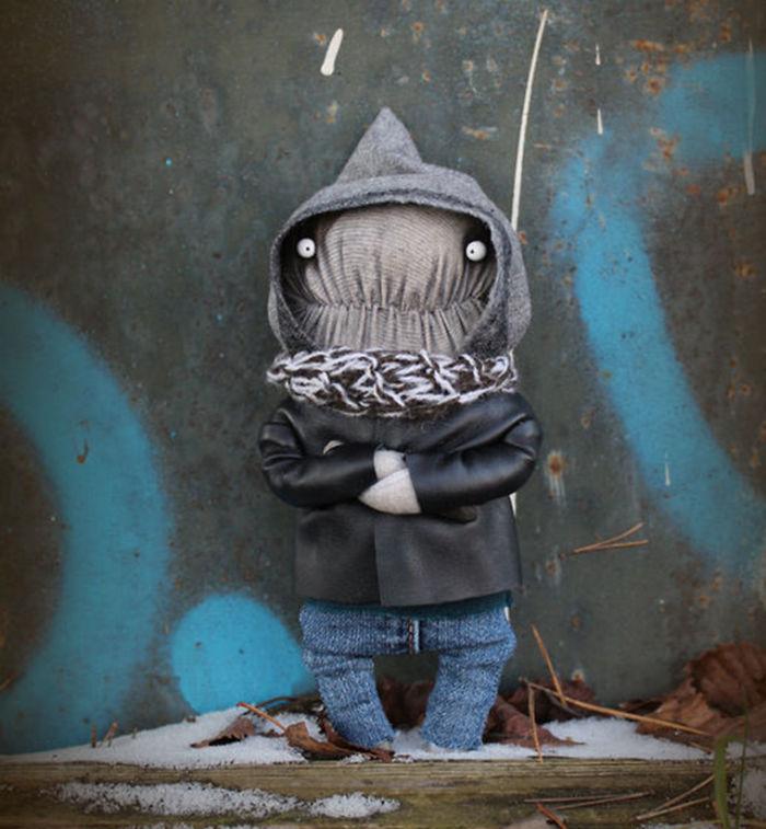 By Contrast: Such Different Dolls By Irina Sayfyjdinova
