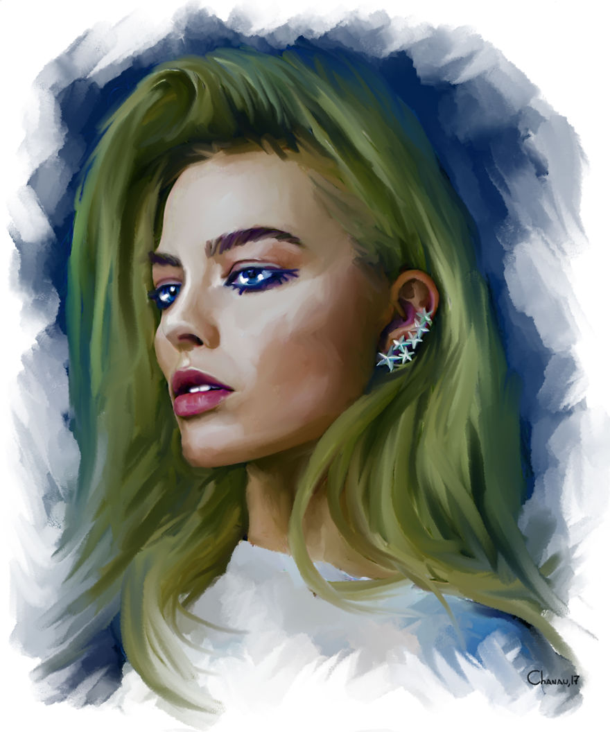 I Create Digital Portraits