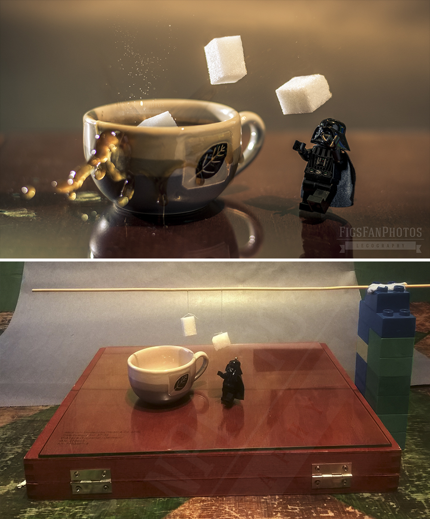 Cup Of Coffee Please! Lord Vader's New Job After The Shooting Of Star Wars