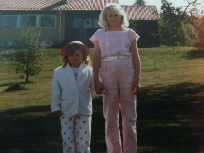 Me And My Sister Looking Fab... #80ies
