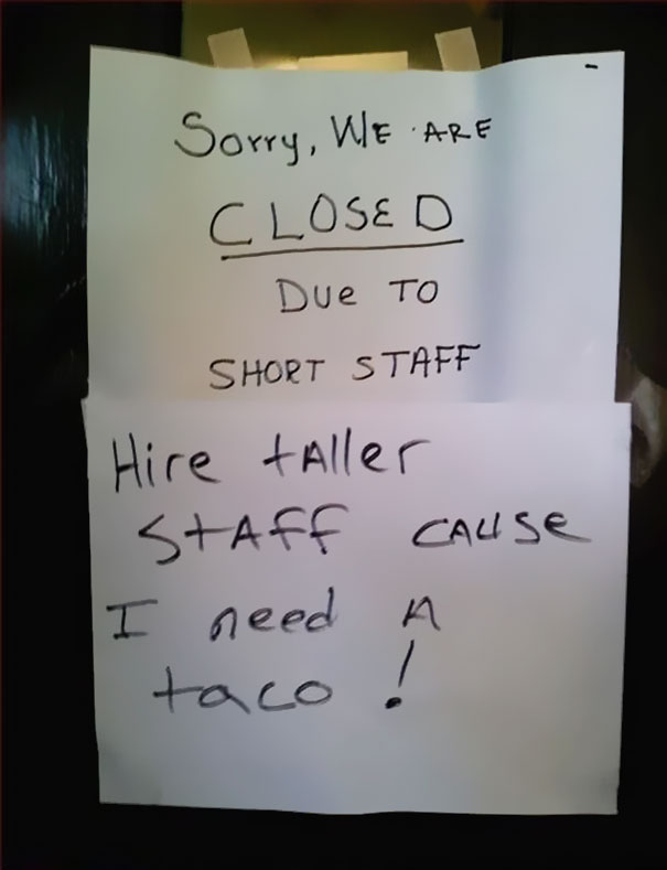 I Need A Taco