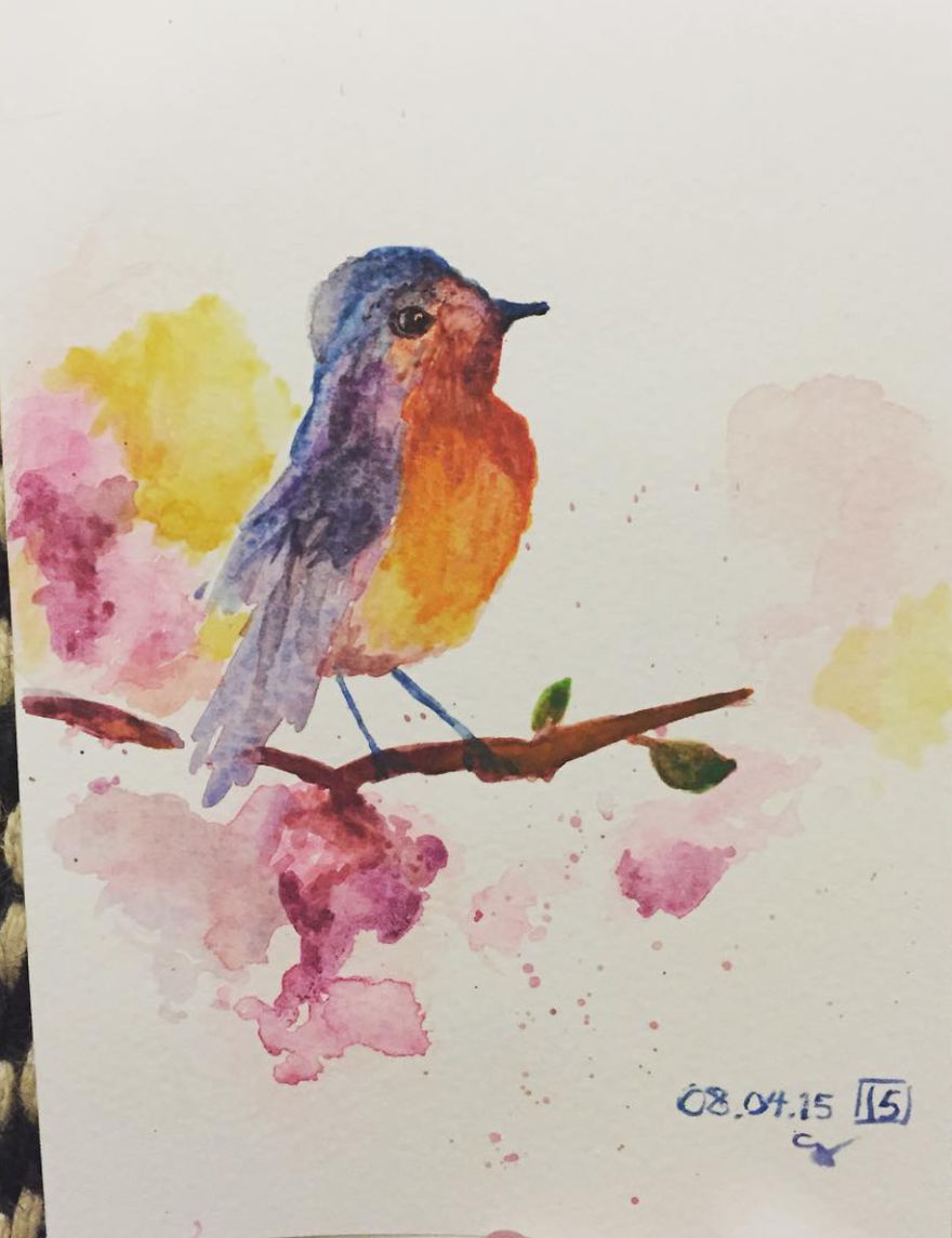 I Taught Myself Watercolor And Left My Cushy Corporate Job 9 Months Later