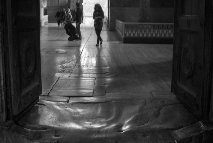 Entrance To Hagia Sophia, Istanbul