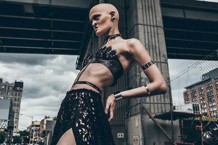 Meet Melanie Gaydos, The Model Who Broke All Fashion Stereotypes